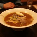 新川栄太郎 - 魚油ラーメン