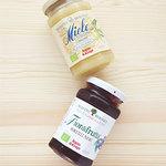 チューズィー - オーガニックのはちみつと砂糖不使用の有機フルーツスプレッド(ブルーベリー)