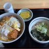 そば処 もりのや - 料理写真:かつ丼セット¥850