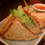 126620505 - カノムパンナーム ขนมปังหน้าหมู
