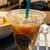 タリーズコーヒー - ドリンク写真:かにとトマトクリームのパスタセット