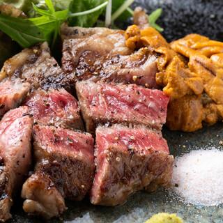"""美味しい「肉」と「ウニ」に囲まれる幸せ。人気の""""うにく""""も"""
