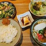 Okinawasakabaminsa - ゴーヤー&ソーキそば ハーフセット