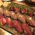 小岩 肉寿司 -