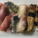 博多豊一 - 持ち帰り寿司 1貫=100円 税別