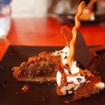 cafe unji. - じっくり焼いた キャラメルリンゴとザクザク木の実のパイ生地タルト
