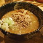 つけ麺屋 やすべえ - 味噌つけ麺 中盛り(330g) ¥820