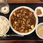 芝蘭 - ・Aセット 四川麻婆豆腐 1,000円(税込)