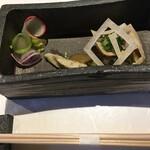 京都 喜Shin - 前菜1品目。