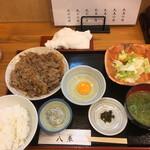 和料理 八車 - 牛すき焼き定食 900円(税込)