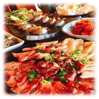 自慢のお肉をバランスよく楽しめる♪宴会コース!