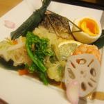 北新地 成司 - 台物(焼き鯖、穴子粽寿司、など)
