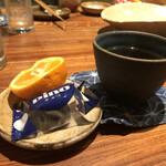チドリアシ - デザートとお茶であがり