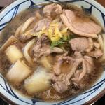 丸亀製麺 - 鴨ネギ(並)