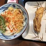 丸亀製麺 - べっかけ(並) かしわ天