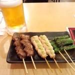 八重洲 串や  - 串焼き