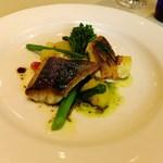 Restaurant27 - イトヨリのポワレ ハーブのソースをバルサミコソース