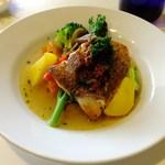 Restaurant27 - 真鯛と野菜のナージュ ・セミドライトマトをアクセントにして