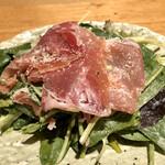 SO-TEN - ほうれん草と生ハムのサラダ