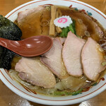 126668584 - 焼豚ワンタン麺