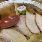 126668586 - 焼豚ワンタン麺