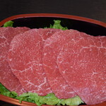焼肉 紫雲 - 料理写真:和牛A5赤身肉