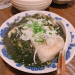 二代目 居呂利 - 岩のりあんかけ豆腐    680円