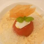 ラ・ロシェル - 高知産シュガートマトとジャスミンのマリアージュ イルフロッタント仕立て