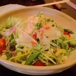和味や るぜん - 紅ズワイガニのサラダ(680円)