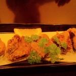 和味や るぜん - 漬けマグロの竜田揚げ
