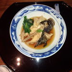 日本料理雲海 - オコゼの煮付け(瀬戸内御膳)。