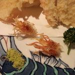 日本料理雲海 - ♪海老せんべいの行進♪(天麩羅御膳)。