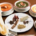 グッドフレンド タイ・インド料理 - カレー集合