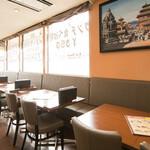 グッドフレンド タイ・インド料理 - テーブル席1