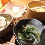 おすし・割烹 とく寿 - 前菜盛合せ