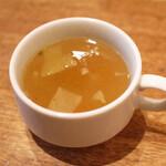 RAINBOW CAFE&WINE DINING - ランチのスープ