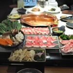 健康美容 火鍋専門店 朝天門 - ¥5,500コース