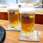 すし処みうら - 生ビール
