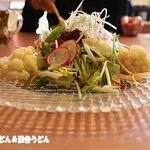 中国料理 成蹊 - 料理写真:ちりめんじゃことカリフラワーのサラダ