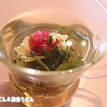 中国料理 成蹊 - 花咲く工芸茶