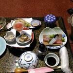 原田屋旅館 - 料理写真:夕食