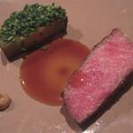 126688637 - 肉料理、鹿児島県産黒毛和牛