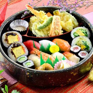 出前メニュー⭐︎選べる寿司セット