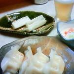 立飲み東京キクマ - 水餃子ポン酢