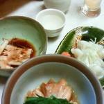 立飲み東京キクマ - 鶏のジブ煮