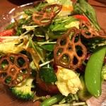 126690661 - オステリアフルボ(彩り野菜とフルーツトマトのサラダ)