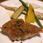 オステリア フルボ - オステリアフルボ(本日の鮮魚の香草パン粉)