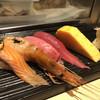 梅丘寿司の美登利総本店 - 料理写真:サーモン・海老・中トロ・赤身・玉子