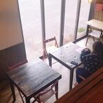 マンマカフェ ブレーメン - 『mamma cafe Bremen』  マンマカフェ  ブレーメン 二階の秘密基地からの眺め