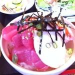 海王 - 海鮮丼アップ!